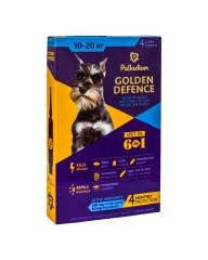 Капли на холку Golden Defence от паразитов для собак весом 10-20 кг