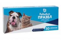 Таблетки Празел от гельминтов для собак и кошек