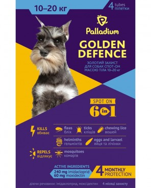 Palladium Golden Defence 10-20 kg spot-on