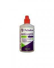 Антисептический лосьон с мирамистином Palladium Antiseptik (50 мл)