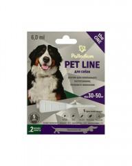 Капли на холку от блох, клещей и гельминтов Pet Line the ONE для собак весом 30-50 кг