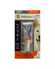 Капли на холку от блох, клещей и комаров Strong Effect для собак весом 20-40 кг