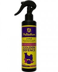 Спрей Golden Defence от блох и клещей для кошек (250 мл)