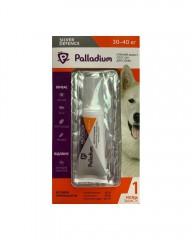 Капли на холку Silver Defence от блох, клещей и комаров для собак весом 30-40 кг