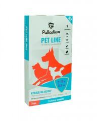 Капли на холку Pet Line №2 от блох и клещей для собак весом 2-10 кг