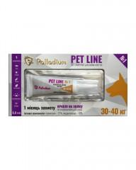 Капли на холку Pet Line №1 от блох и клещей для собак весом 30-40 кг