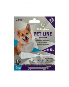 Капли на холку Palladium Pet Line the ONE для собак весом 10-20