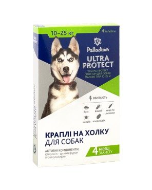 Palladium Ultra Protect spot-on dog 10-25 kg