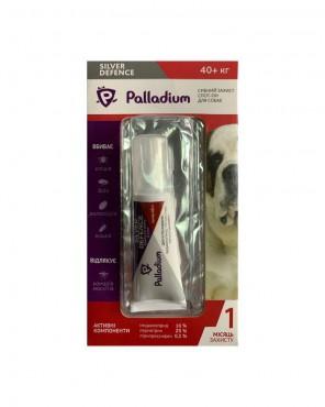 Капли на холку Palladium Silver Defence для собак весом более 40